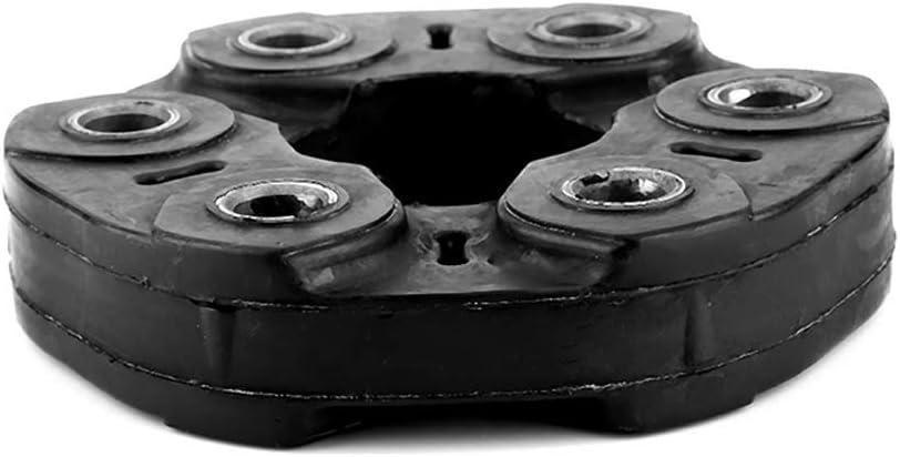 Qii lu 96mm 6 Trous Disque dArbre dEntra/înement Joint de articulation Flexible pour laccouplement de larbre de Transmission pour E46 E36 E39 E34 X5