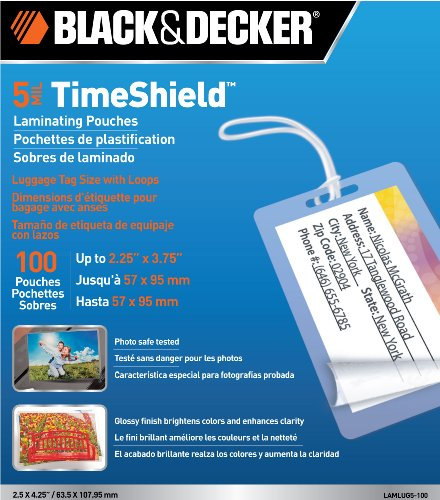 Black & Decker BLACK + DECKER TimeShield  Thermal Laminat...