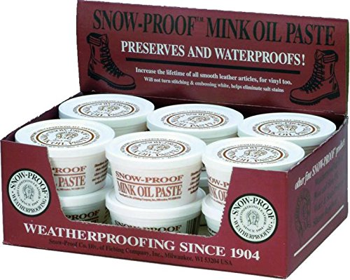 (SNOW PROOF MINK OIL PASTE - 3 OUNCE)