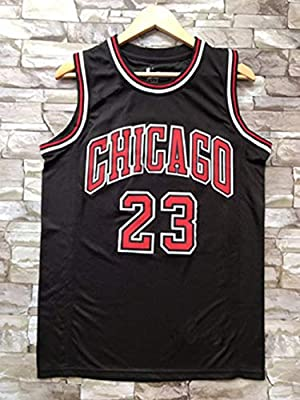 timeless design 774ad 51e2c MJ Michael Jordan NO.23 Chicago Bulls Mesh Embroidery Jersey ...