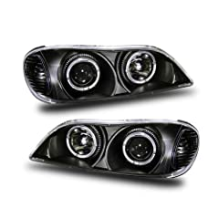 Fits:00-01 Infiniti I30(do not fit the car with FACTORY HID EQUIPPED)         Complete set includes Left and Right Sides Projector Headlights         100% Brand New in Original Packaging         Use H7 light bulbs for Low Beam...