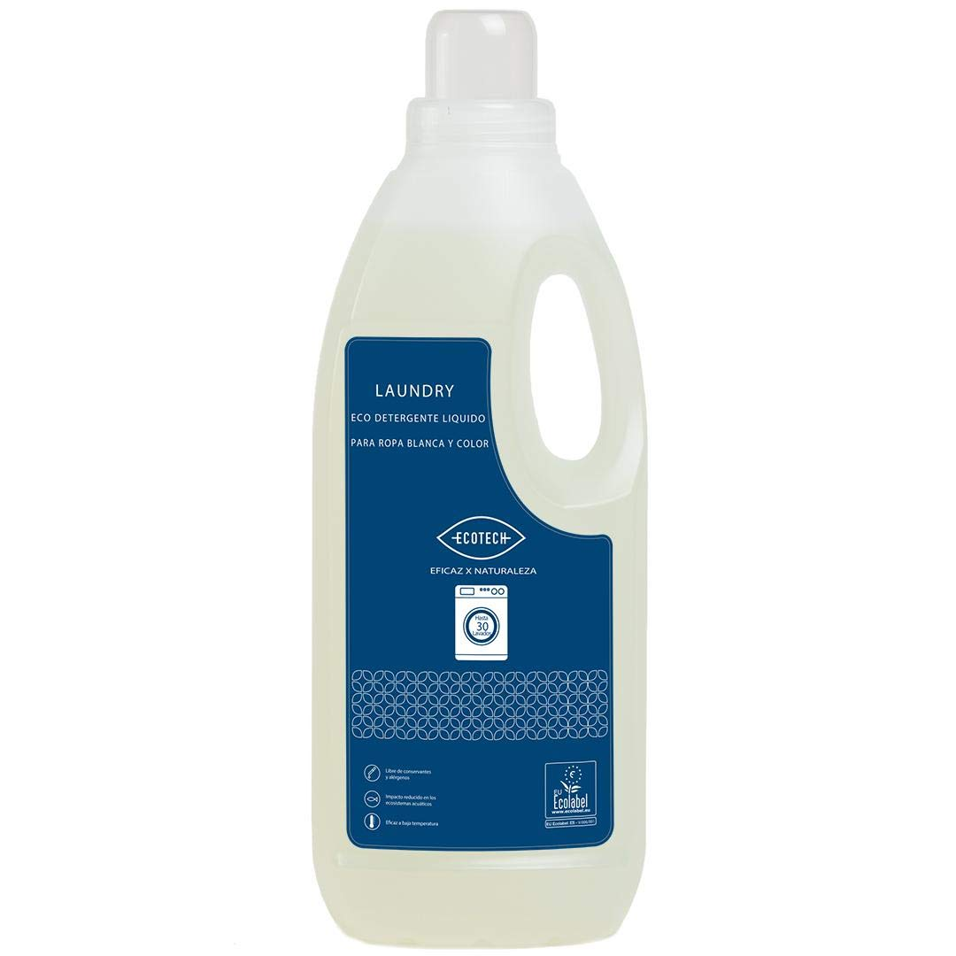 Detergente líquido para lavadora Ecotech 5 Litros: Amazon.es: Hogar