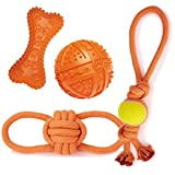 Grriggles 24 Piece Ruff Rope & Rubber Toys Pack