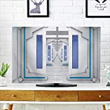 Leighhome Protect Your TV Robotic Mission Vehicle Solar System Journey to Universe Protect Your TV W25 x H45 INCH/TV 47''-50''