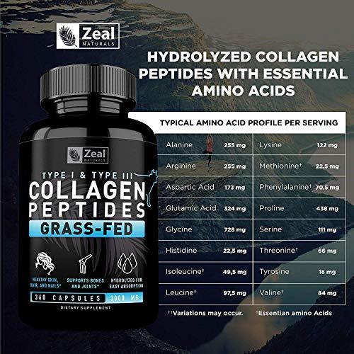 Mua Pure Collagen Peptides Collagen Pills (360 Capsules) 100