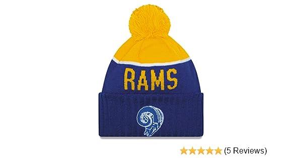 b9325b196 ... cute 34510 9bdc3 Amazon.com New Era Los Angeles Rams 2015 NFL Sideline  On Field ...