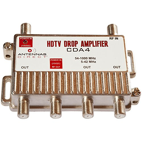 - 4 Port DTV Distribution Amplifier - CDA4