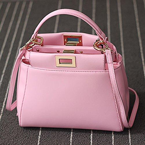 Bolso Bolso Mini Bolso GUANGMING77 Pink Rosa Bolso Bolso tzqxUSRpw