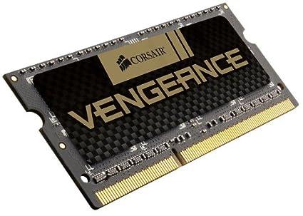 Corsair Vengeance - Memoria RAM de 8GB (1x8GB) (DDR 3, 1600 MHz, CL 10), negro