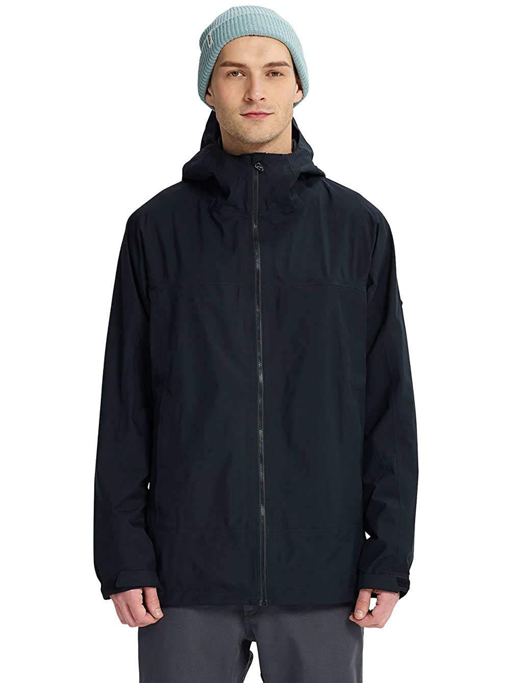 Burton Gore-TEX PACKRITE RAIN JKT True Black Giacca AI18