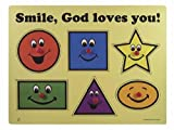 Puzzle-Smile Gods Loves You/Wooden