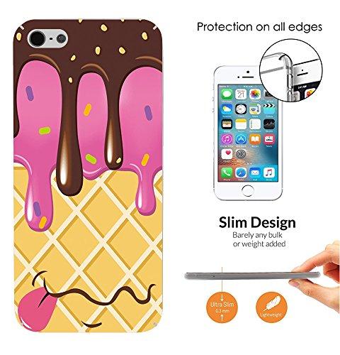 ice cream cone case iphone 4s - 5