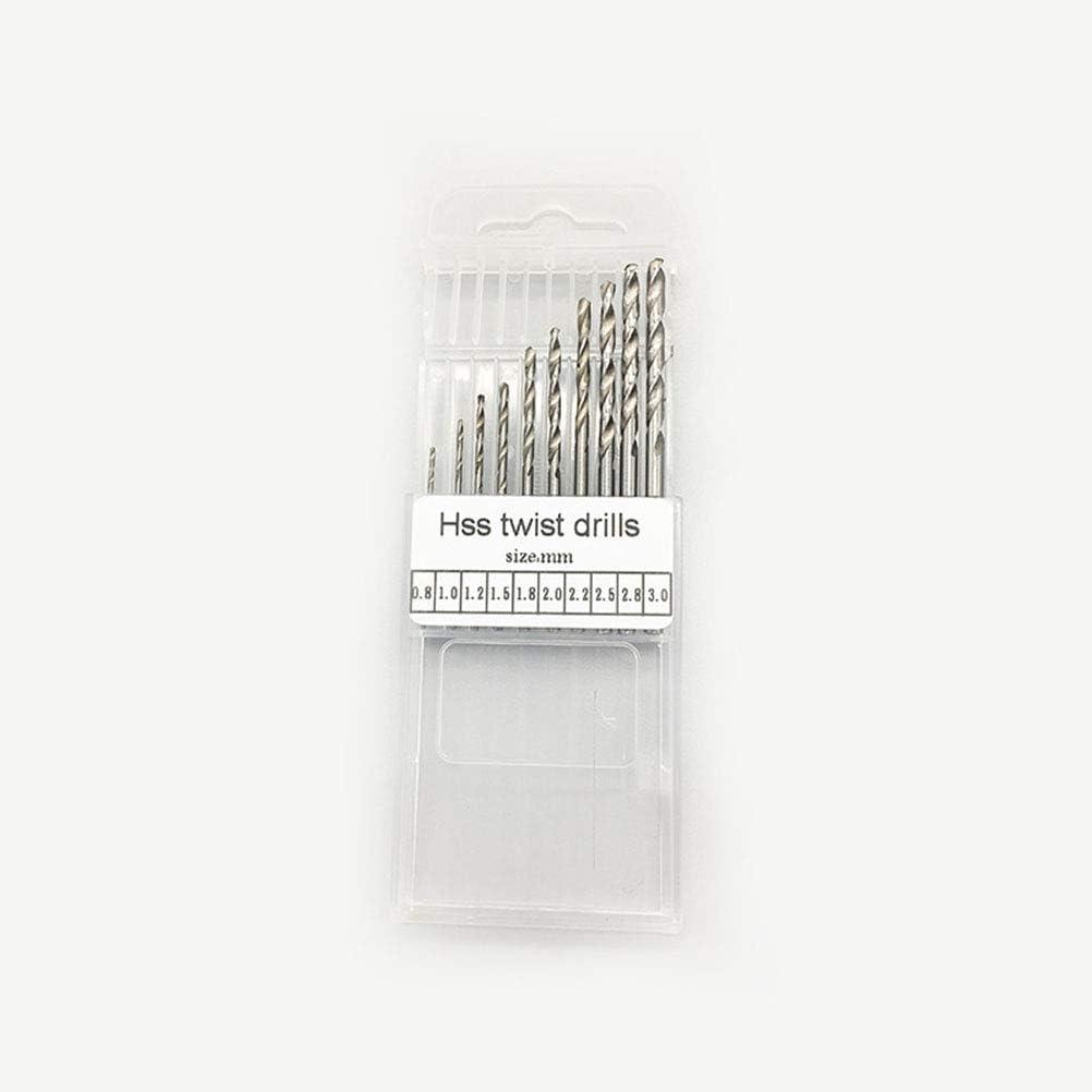 Yardwe Spiralbohrer pr/äzision pin vise mini micro handbohrer set drehwerkzeuge f/ür holz handwerk hobbyprojekte