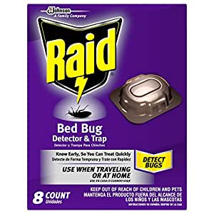 Raid Bed Bug Detector and Trap, 8.0 Count