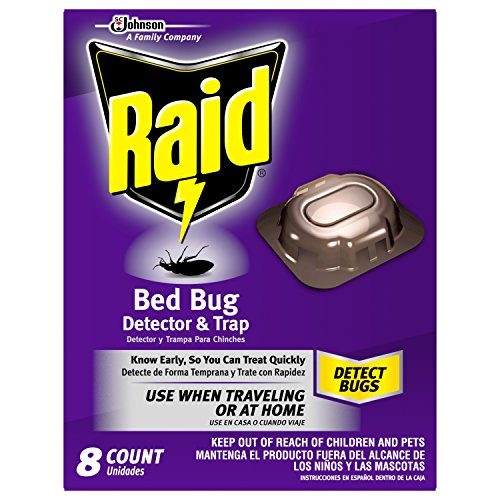 Raid Bed Bug Detector & Trap, 8 CT (Pack - 1)