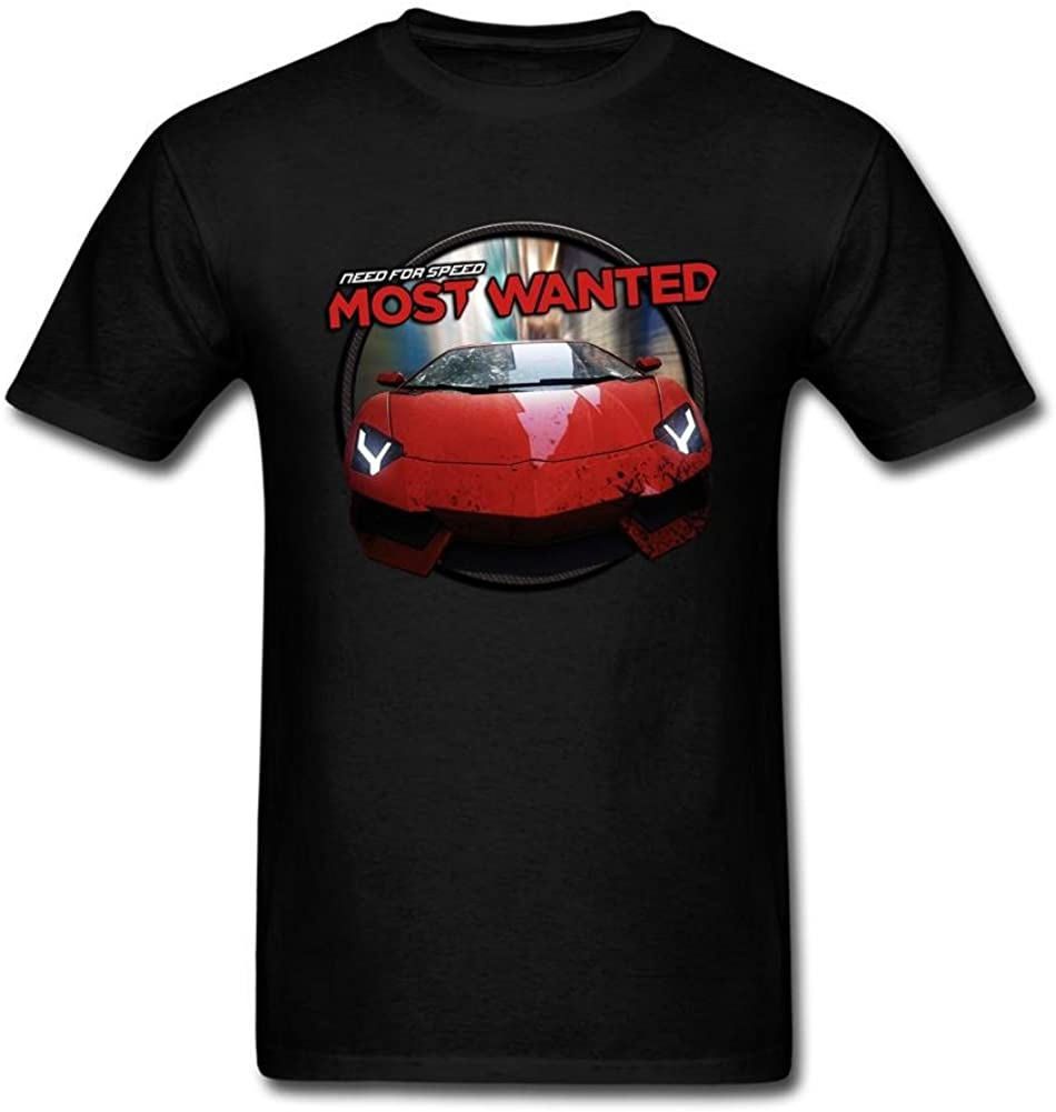 Kittyer Men's Need For Speed Design Cotton T Shirt S