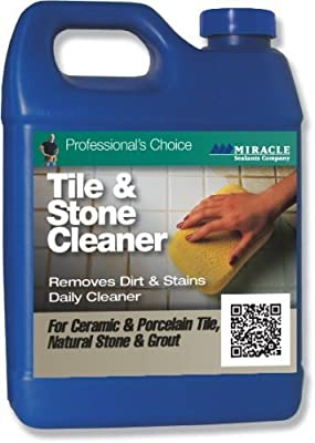 Miracle Sealant Tile & Stone Cleaner 32oz, Model: TSC QT SG, Tools & Outdoor Store