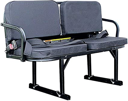 Great Day UVRS100BL Rumble Seat Utility Vehicle Passenger Seat