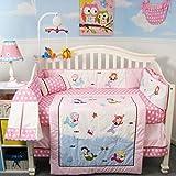 Best SoHo Designs Bed Skirts - SoHo Mermaids Baby Crib Nursery Bedding Set 13 Review