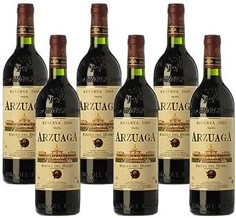 Arzuaga Reserva - Vino Tinto- 6 Botellas: Amazon.es: Alimentación y bebidas