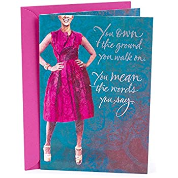 Hallmark Mahogany Birthday Card For Her Woman