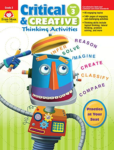 (Critical and Creative Thinking Activities, Grade 3 )