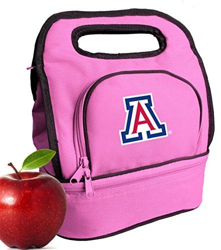 Broad Bay University of Arizona Lunch Bag Cute Arizona Wildcats Lunch Tote for Girls & Women