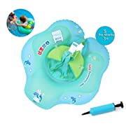 Baby Inflatable Swimming Float, Safety Underarm Swimming Waist Float Ring, Children First Swim Floaties Water Fun Swimming Pool Accessories Early Learning Bath Toy for Girls, Age ( 3 - 12 Months, S )