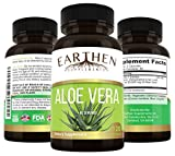 Organic Aloe Vera Supplement Equivalent to 20,000mg- RAW All Natural Non-GMO Review