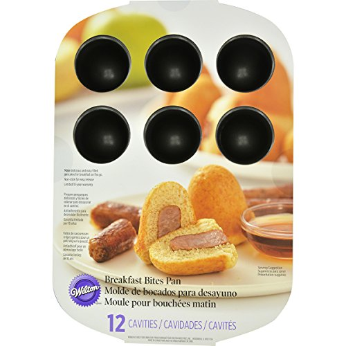 Wilton 2105-8451 12 Cavity Breakfast Bite Pan]()