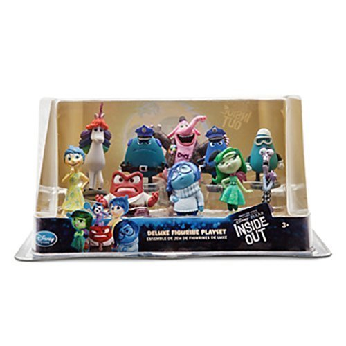 Disney - Inside Out Deluxe Figure Play Set - New