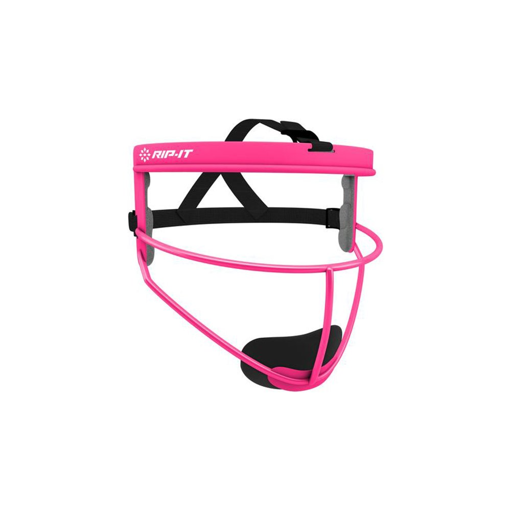 RIP-IT Defense Softball Fielder's Mask (Pink, Adult) by RIP-IT