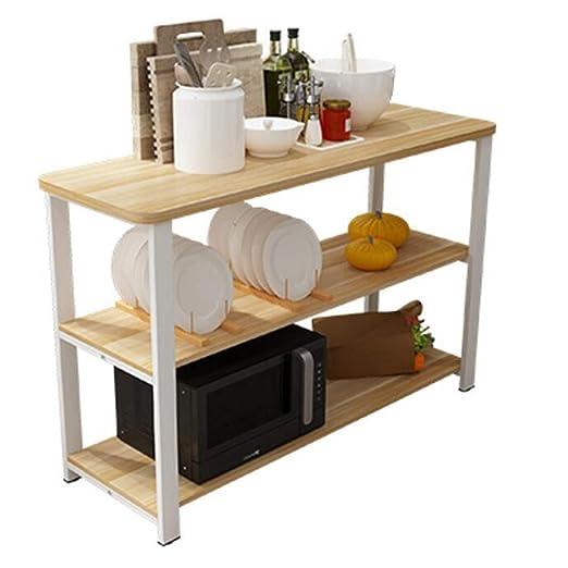 Inicio Cocina para Picar Pequeña Mesa Rack Storage Rack Floor ...