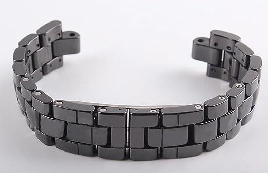 high quality black ceramic watch band bracelet fit chanel j12 mens high quality black ceramic watch band bracelet fit chanel j12 mens watch 19mm