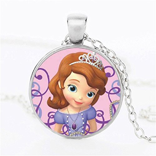 SOFIA THE FIRST PRINCESS NECKLACE (SILVER)
