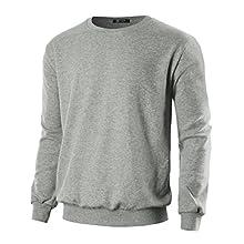 Men's Lightweight Crew Neck Sweatshirt