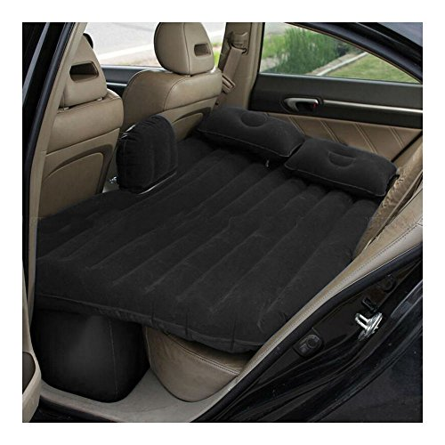 Black Car Self-drive Air Bed Sleeping Seat Inflatable Back Seat Mattress + Pillow/Pump from Unknown