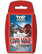Winning Moves WMA Top Trumps Captain America Civil War Board Game