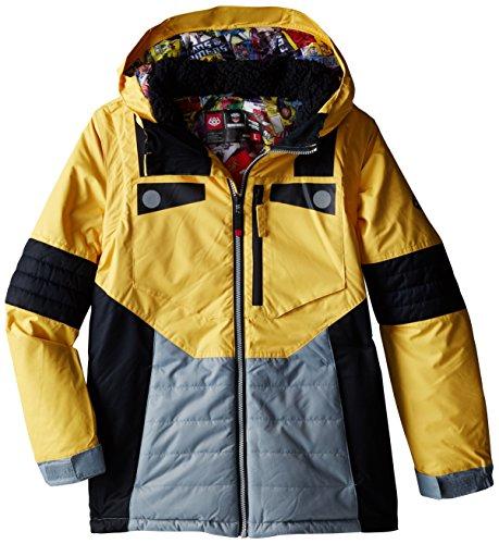 686 Boy's Transformer Autobot Jacket, X-Large, Bumble Bee Yellow (686 Boys Snowboard Jacket)