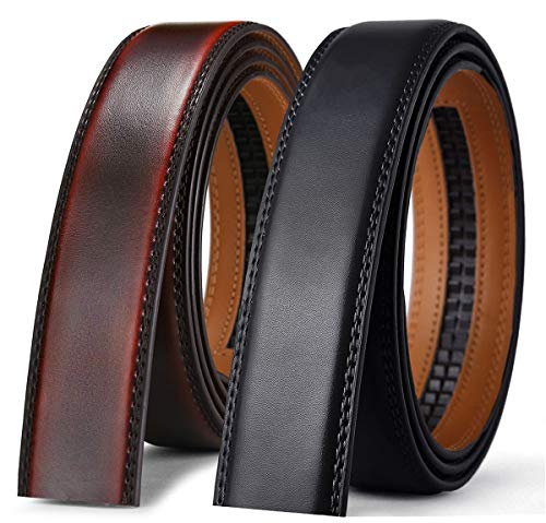Mens Belt Accessories,Bulliant Individual Ratchet Strip for Mens Dress ()