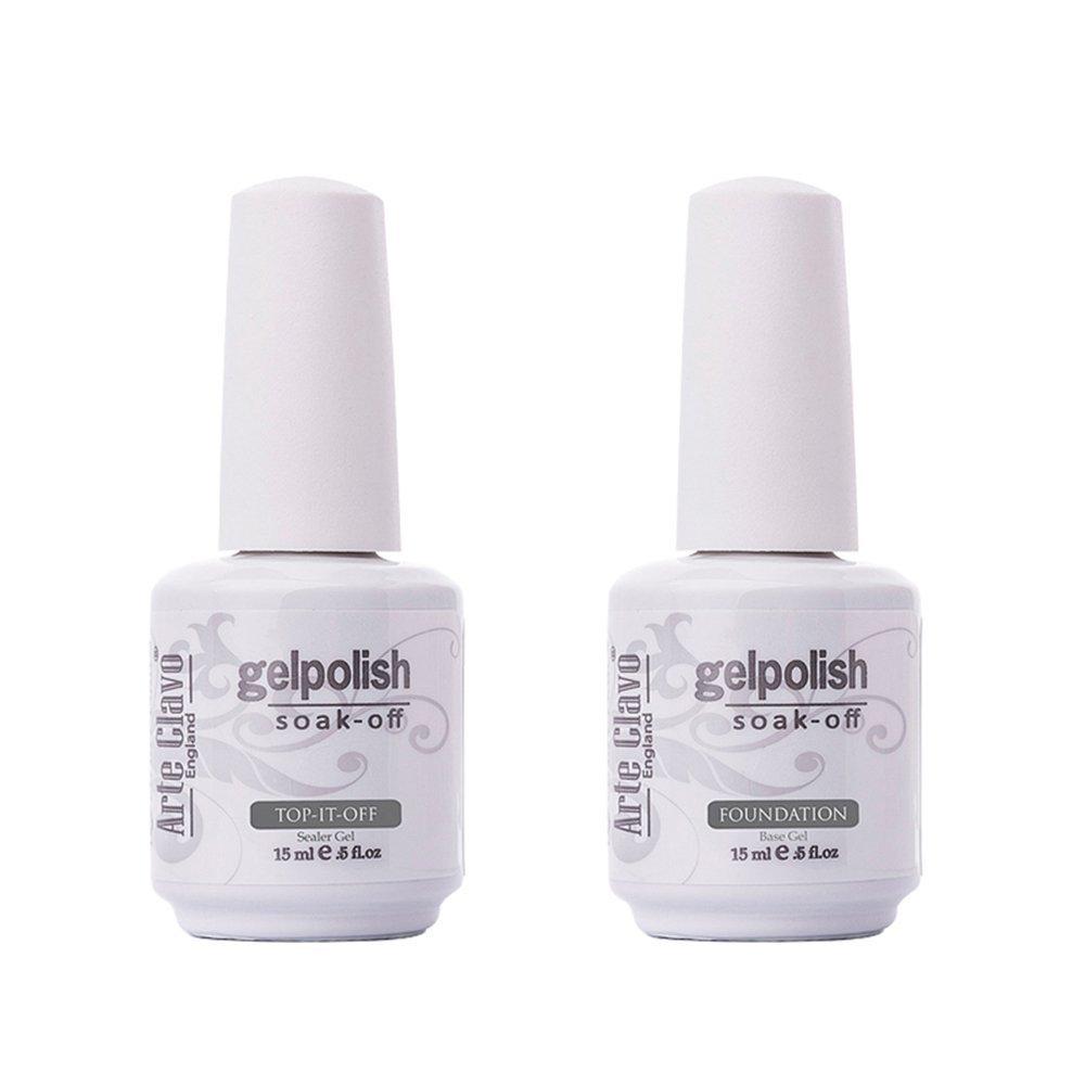 Amazon.com: Arte Clavo 15ml Varnish Soak Off UV Led Nail Gel Polish ...