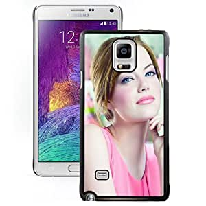 NEW DIY Unique Designed Samsung Galaxy Note 4 Phone Case For Emma Stone Phone Case Cover