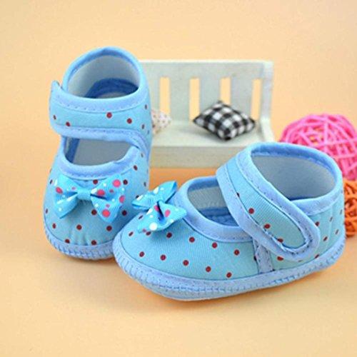 Tefamore Zapatos Bebe De Primeros Pasos Calzado De Estilo La Flor De Mariposa Pequeñas Botas Para Primeros Caminantes(Colores Opcional