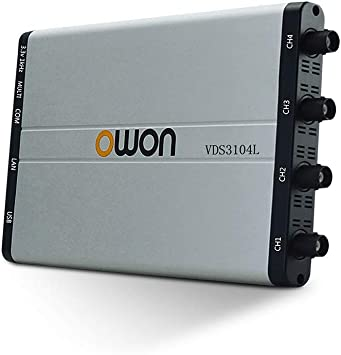 Owon VDS2062 60MHz PC-based Oscilloscope 1GSa//s Sample Rate 100MHz Bandwidth LAN Remote Conreol 10M Record Length