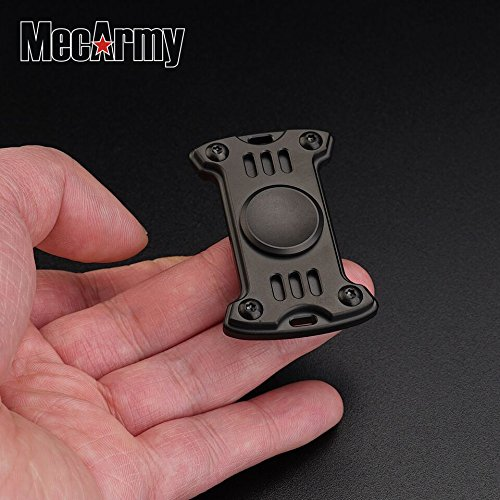 GP1 Titanium Fidget Spinner, Hand Excise, Relieves Stress and Anxiety, MecArmy (black) by MeCarmy (Image #3)