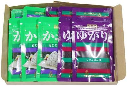 三島食品 ゆかり & かおり(各5コ・計10コ)セット