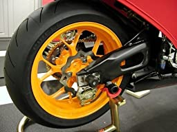 Black Motorcycle Carbon CNC Aluminum Machined Swingarm Sliders Spools Fiber Protector Fit For Yamaha YZF R1 1999-2001