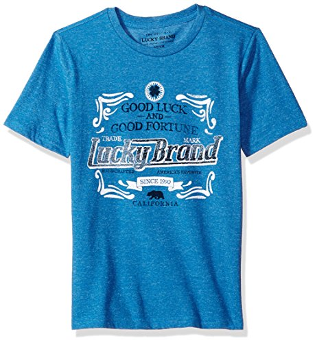 Diver Kids T-shirt (Lucky Brand Toddler Boys' Short Sleeve Graphic Tee Shirt, Fortunate Sky Diver, 3T)