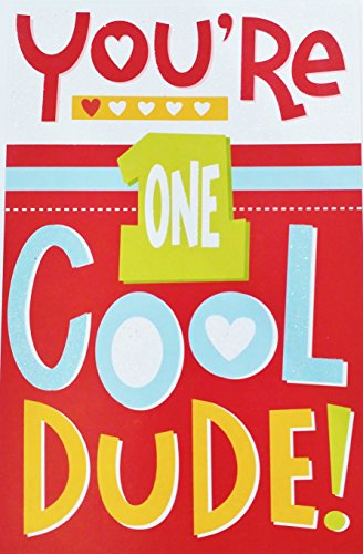 You're One Cool Dude! Grandson - Happy Valentine's Day Greeting Card