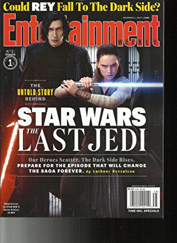 Entertainment Weekly Magazine (December 1, 2017) Star Wars The Last Jedi Cover 1 of 4